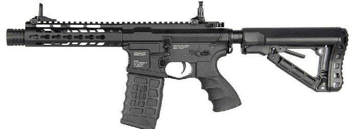 JHS((金和勝 生存遊戲專賣))G&G 全金屬 GC16 WILD HOG 7'' 電動槍 6428