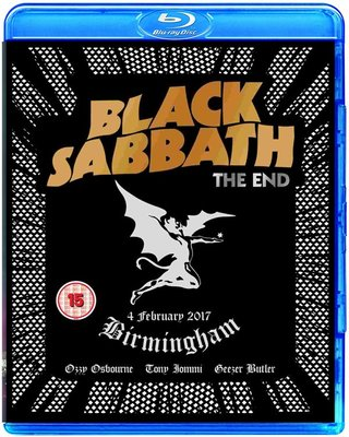 高清藍光碟 Black Sabbath The End Live in Birmingham (藍光BD50)
