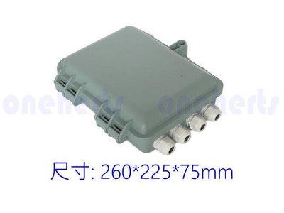 萬赫視訊 FDB12 12芯光纖熔纖盒 FDB08 1分8插卡式 分光盒 光纖盒 室外防水 熔接盒 室內戶外通用