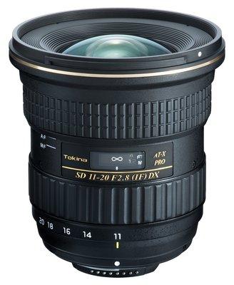 Tokina AT-X 11-20mm F2.8 PRO DX IF (公司貨 保固3年)