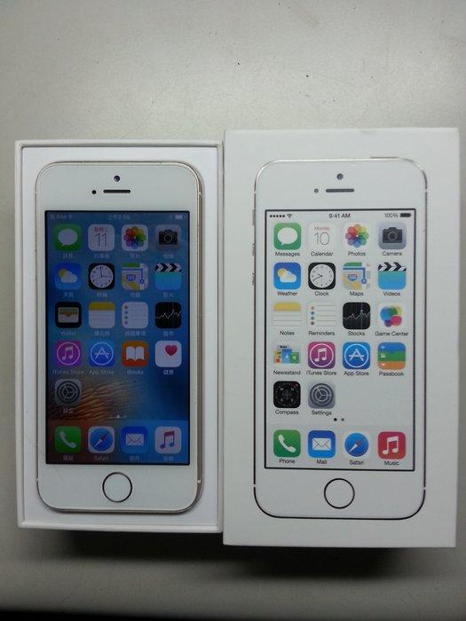 iPhone 5s 16G, 金色, 盒裝