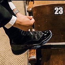 11全新正品 黑11代高筒 AIr Jordan 11 Retro High Cap and Gown 台灣公司貨