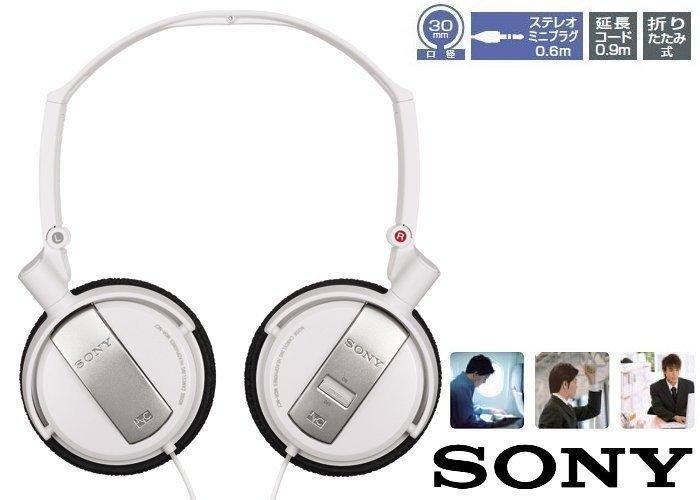 SONY MDR-NC7頭戴式 降噪87%立體聲耳機,折疊旋轉設計,監聽耳罩式 半罩式耳機,iPHONE,9成新~近全新