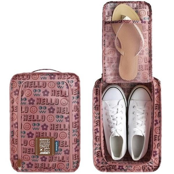 ❅PAVEE❅ 韓國monopoly~ Enjoy Shoes Pouch v.3 愛玩客 鞋子球鞋防水旅行收納袋
