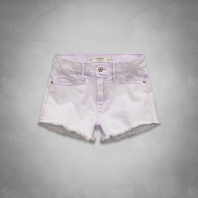《Cupio》現貨Abercrombie Fitch AF High Rise Shorts 刷色高腰牛仔短褲(2)