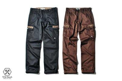 CABAL WILD BUNCH LEOPARD POCKET WORK PANTS 工作褲 S全新 REMIX