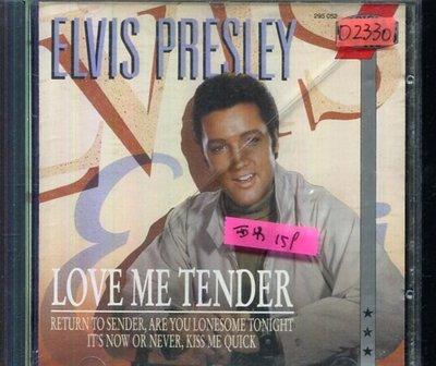 *還有唱片四館* ELVIS PRESLEY / LOVE ME TENDER 二手 D2330 (殼破)
