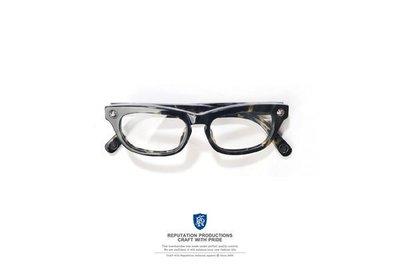 REPUTATION  Vintage R.P.T.N HAND MADE Glasses-仿古字體手工眼鏡 / 玳瑁