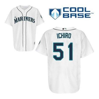 鈴木一朗球衣 Ichiro Suzuki Seattle Mariners Replica Majestic