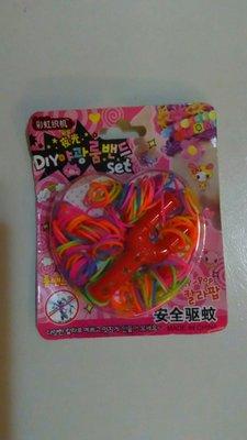 簡易彩虹手圈材料包