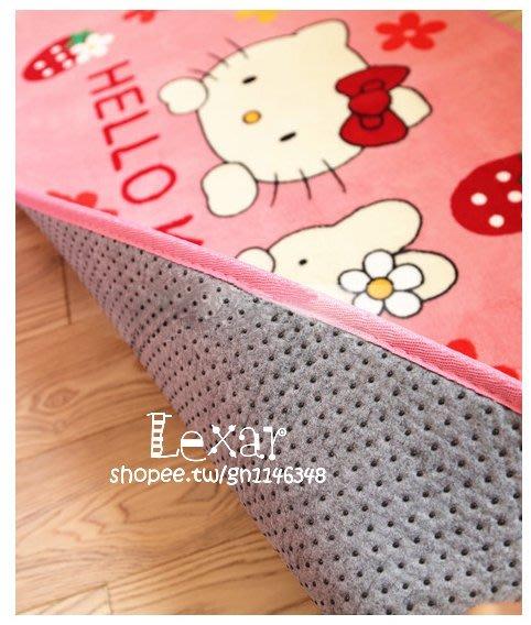 可愛卡通兒童防滑地墊床邊長條方形地毯腳墊臥室家居用廚房進門口