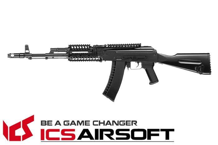 【翔準軍品AOG】ICS MAR RIS(黑)固定托 長槍 電動槍 步槍 生存遊戲 ICS-32