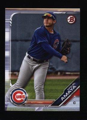2019 Bowman Draft #BD-135 Miguel Amaya - Chicago Cubs