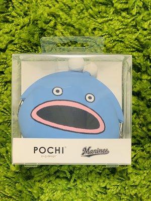 貳拾肆棒球--日本帶回日職棒千葉羅德謎之魚第二型態 POCHI零錢包