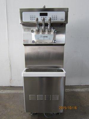 【三大餐飲設備館】二手餐飲設備-韓國進口落地型霜淇淋機