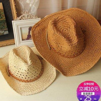 999草帽男女士禮帽漁夫帽釣魚帽親子帽情侶帽沙灘遮陽大檐沙灘禮帽帽子