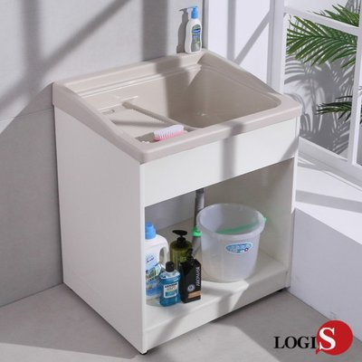 ABS塑鋼無門櫃體洗衣槽 72CM *...