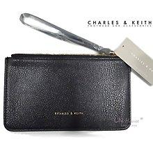 IN House* 新加坡 簡約風 皮質手拿零錢包 證件卡包 手機袋 - 黑 (特價)