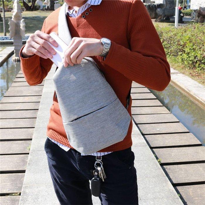 肩背包 新款韓版胸包男女休閒運動單肩 挎包多功能戶外跑步運動防水腰包