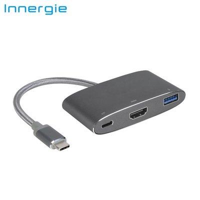 台達電 INNERGIE MagiCable USB-C對HDMI多孔轉接器 ACC-S20FM-TA