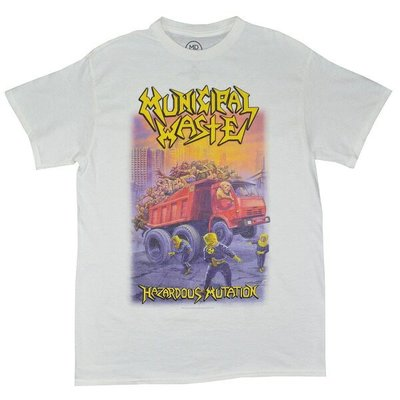 【小阿哥】MUNICIPAL WASTE Hazardous Mutation /T-SHIRT/短T/復古/流行