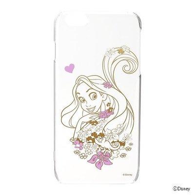 尼德斯Nydus~* 日本正版 迪士尼 長髮公主 透明硬殼 手機殼 5.5吋 iPhone6+ Plus