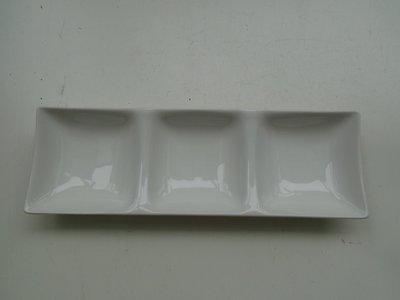 東昇瓷器餐具 大同強化瓷器三格盤 P57334