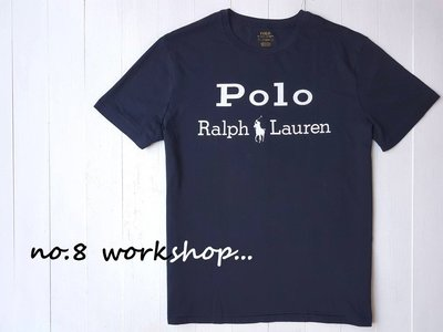 ☆【RL男生館】☆【POLO Ralph Lauren LOGO印圖短袖T恤】☆【RL003Q2】(XL)