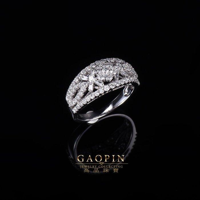 【高品珠寶】設計款《花園》鑽石戒指 求婚戒指 訂婚戒指 情人節禮物  生日禮物 #3576