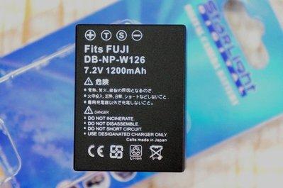 【中壢NOVA-水世界】Fujifilm 富士 NP-W126 W126 副廠 鋰電池 副電【一年保固】XE1