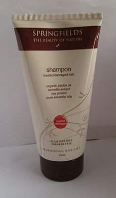 /澳洲直購/ Springfields Shampoo(treated/damaged)hair優髮活絡洗髮乳325ml