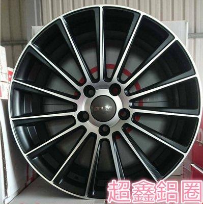 【A-456】 17吋鋁圈 類 AMG 5孔112 5孔114 C300 C200 W205 平光黑車面