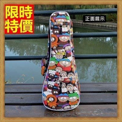 烏克麗麗包 ukulele 琴包配件-23吋南方公園加綿帆布手提背包保護袋琴袋琴套69y17[獨家進口][米蘭精品]