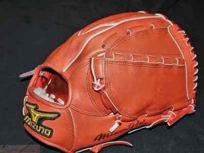 貳拾肆棒球-日本帶回-Mizuno pro 北歐小牛皮特別訂做硬式投手手套.日製/耕作作