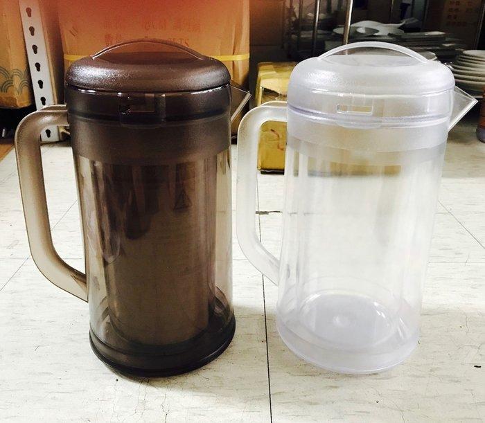 【無敵餐具】日本製雙層透明冷水壺(1.7L)弁慶 冷水壺/保溫瓶/梅花壺/日式茶壺【U0006】