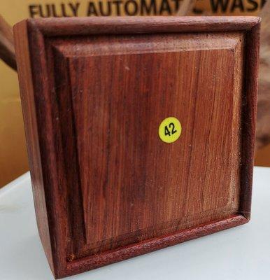 宋家苦茶油.ghanlinebox.42號紫檀的奇楠沉香收藏方盒..值得收藏.87.9克