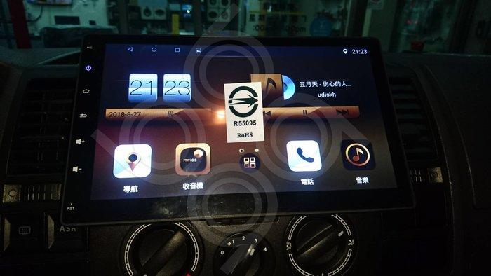 Volkswagen 福斯 T5 -10吋安卓機.Android.觸控螢幕.usb.導航.網路電視.公司貨保固一年