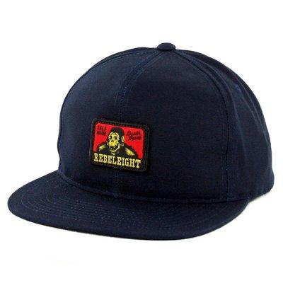 【REBEL8】DRUDGE SNAPBACK (黑色)可調節帽子