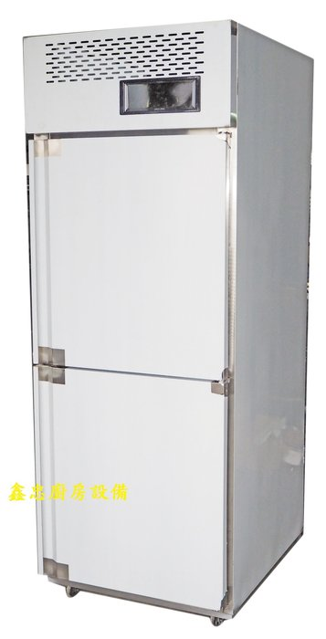 鑫忠廚房設備-餐飲設備:手工系列雙門立式冷凍櫃-雙門麵團冰箱-賣場有西餐爐-烤箱-攪拌機-發酵箱