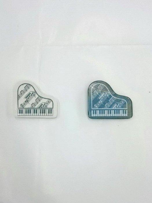 ╰☆美弦樂器☆╯平台鋼琴橡皮擦組(一組2個)