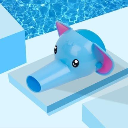 tw/7-14 世界購 水龍頭 延伸器卡通兒童延長器可愛加長通用萬能過濾嘴洗手盆防濺頭