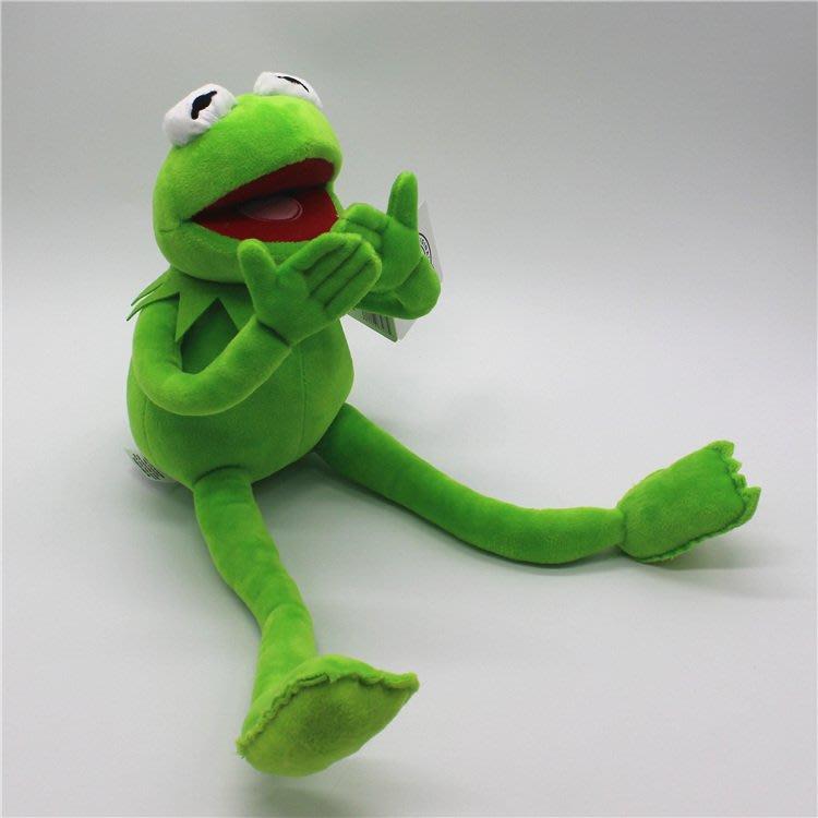 【便利公仔】含運 布偶秀大電影THEMUPPETS科密特青蛙科米蛙毛絨玩具公仔凹造型兒童