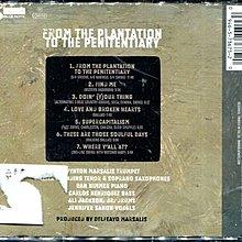 *真音樂* FROM THE PLANTATION TO THE PENITENTIARY 歐版 二手 K13365