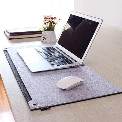 ☜男神閣☞加大滑鼠墊毛氈多功能電腦滑鼠墊鍵盤墊寫字書桌墊加厚