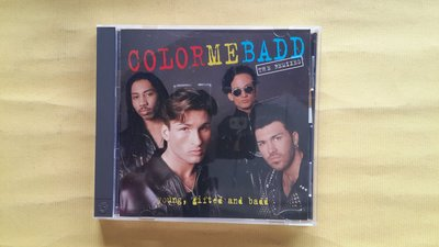 【鳳姐嚴選二手唱片】 COLOR ME BADD / Young, Gifted amd Badd