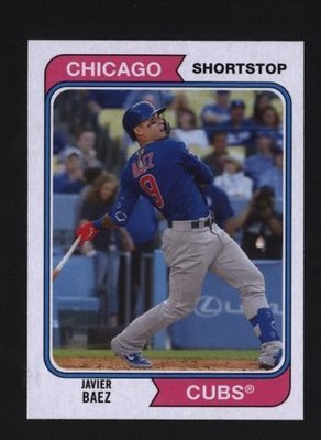 2020 Topps Archives #162 Javier Baez - Chicago Cubs