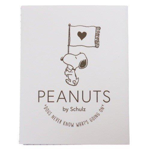 《散步生活雜貨-文具散步》日本進口 Peanut-Snoopy 史努比 攜帶型 手帳用 便利貼 標籤貼組P-13696