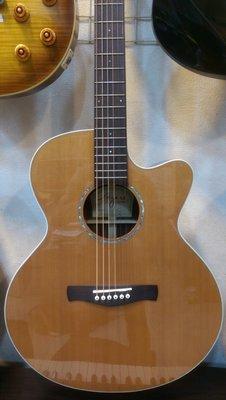 ☆金石樂器☆Ayers SJ-01C 全手工 松木 玫瑰木 全單板 民謠 吉他