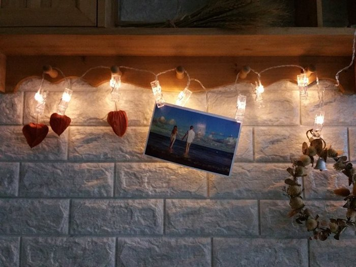 LED{{夾子}}球燈串  庭院婚禮節慶裝飾燈(1.2米)