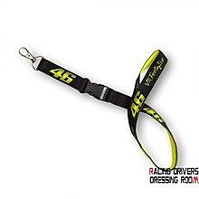 ♚賽車手的試衣間♚ VR46 Rossi VR46 neck key ring 證件帶 手機吊飾  識別證帶